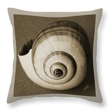 Seashells Spectacular No 25 Throw Pillow