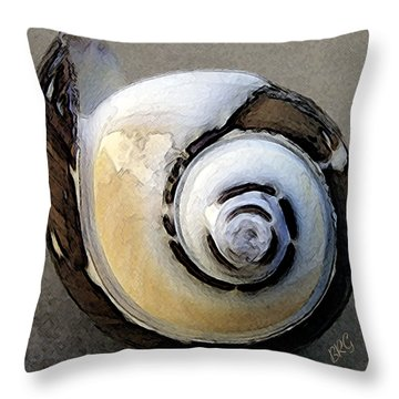 Seashells Spectacular No 3 Throw Pillow
