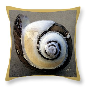 Seashells Spectacular No 3 Throw Pillow