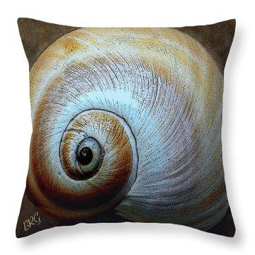 Seashells Spectacular No 36 Throw Pillow