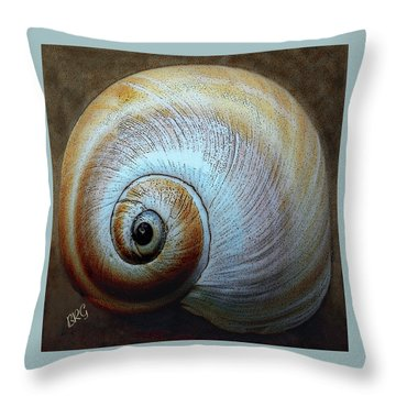 Seashells Spectacular No 36 Throw Pillow