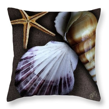Seashells Spectacular No 37 Throw Pillow