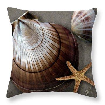 Seashells Spectacular No 38 Throw Pillow