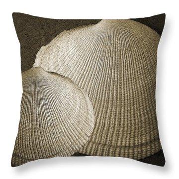 Seashells Spectacular No 8 Throw Pillow