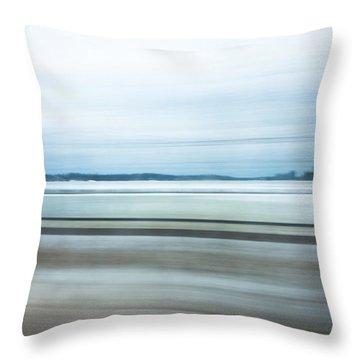 Seashore Expressions Throw Pillow
