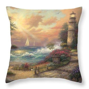 Seaside Dream Throw Pillow