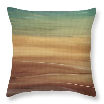 Seaside Throw Pillow by Lourry Legarde