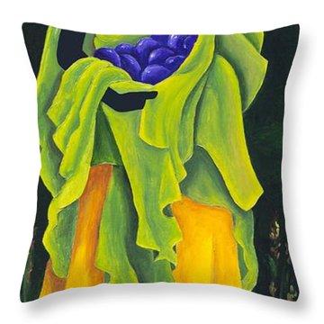 Season Cayemite Throw Pillow