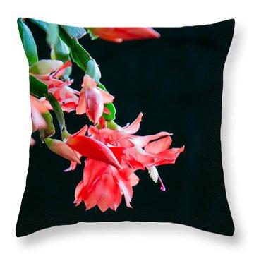 Seasonal Bloom Throw Pillow