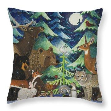 Spirit Of Peace Throw Pillow