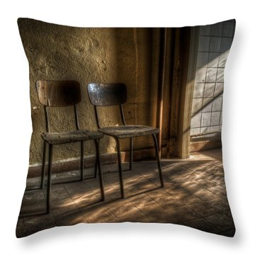Seats For Two Throw Pillow