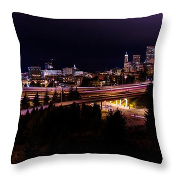 Bend Throw Pillows
