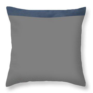 Seattle Sunset June  Throw Pillow