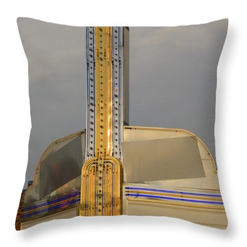 Seattle Theatre Throw Pillow