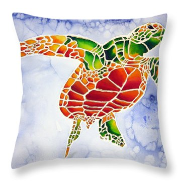 Seaturtle I Throw Pillow