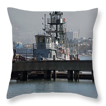 Seaworthy Throw Pillow by Suzanne Gaff
