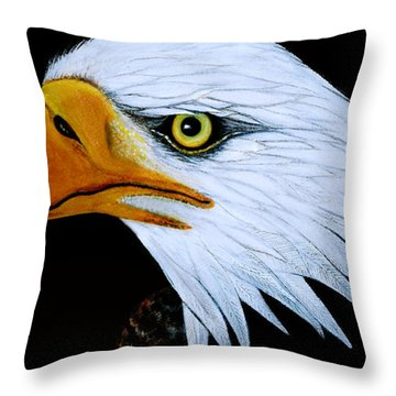 Sebaztian Throw Pillow by Adele Moscaritolo