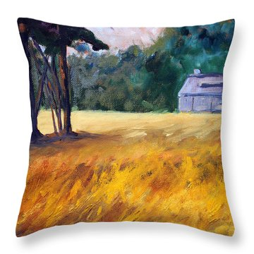 Secluded Throw Pillow
