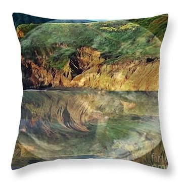 Second Nature Throw Pillow by PainterArtist FIN