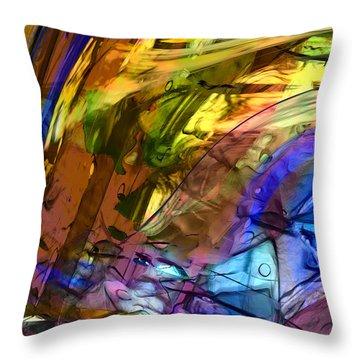 Secret Animal Throw Pillow by Richard Thomas