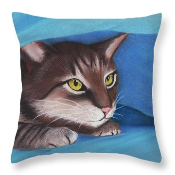 Secret Hideout Throw Pillow by Anastasiya Malakhova