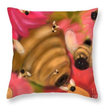 Secret Life Of Bees Throw Pillow