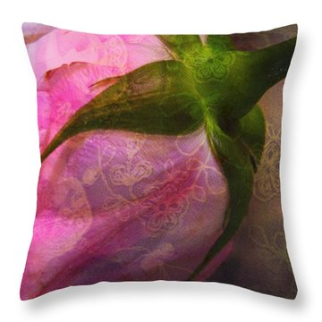 Secret Passion Throw Pillow by Shirley Sirois