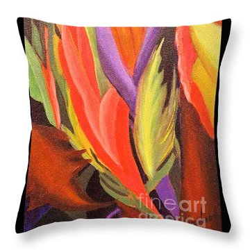 Secret Place Throw Pillow by Glory Wood