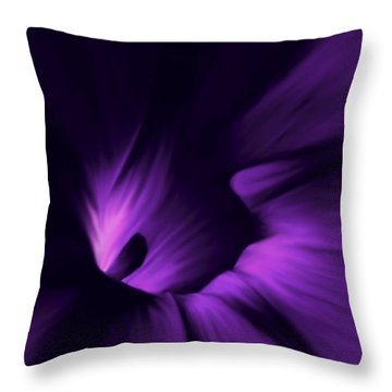Secret Places Throw Pillow by Barbara St Jean