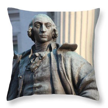 Secretary Of Treasury Throw Pillow