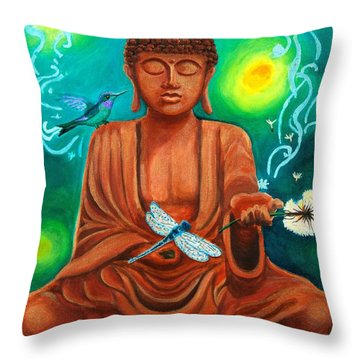 Secrets Of Life Throw Pillow