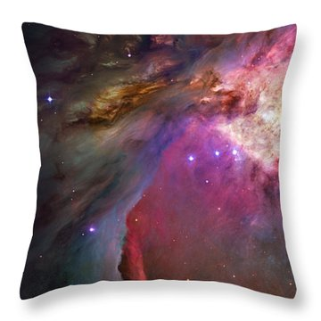 Secrets Of Orion II Throw Pillow