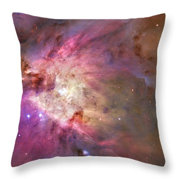 Secrets Of Orion Throw Pillow