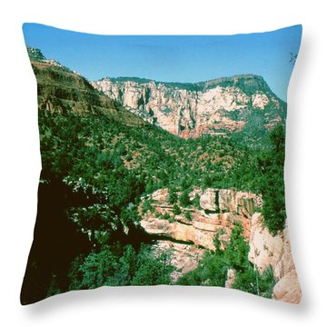 Sedona  Throw Pillow by Gary Wonning