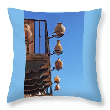 Sedona Jugs Throw Pillow