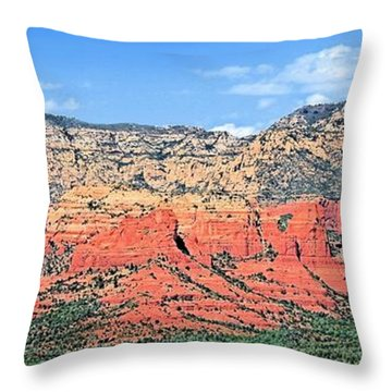 Sedona Landscape Throw Pillow