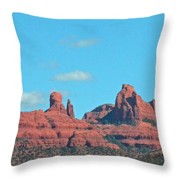 Sedona Panorama Throw Pillow