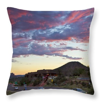 Sedona Skies Rev. Throw Pillow
