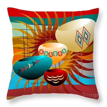 Sedona Still Life 2012 Throw Pillow