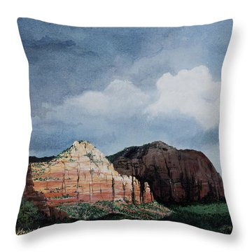 Sedona Storm Throw Pillow