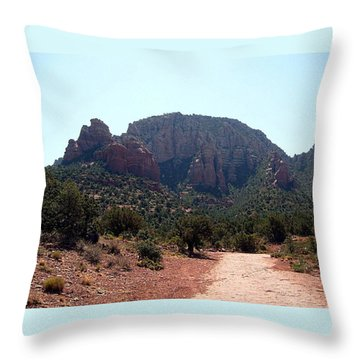 Sedona View 1 Throw Pillow