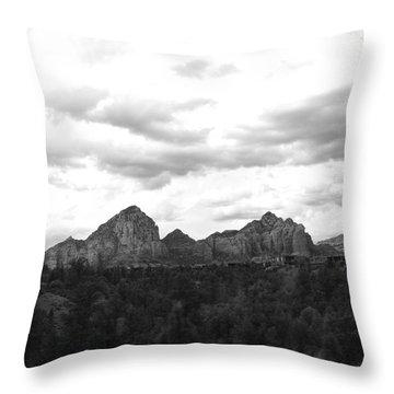 Sedonascape Throw Pillow