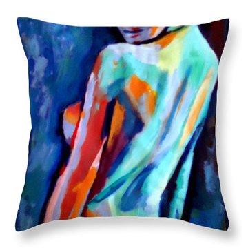 Seduction Throw Pillow by Helena Wierzbicki