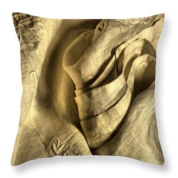 Seductive Throw Pillow by Lauren Leigh Hunter Fine Art Photography