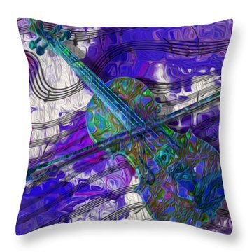 See The Sound 3 Throw Pillow
