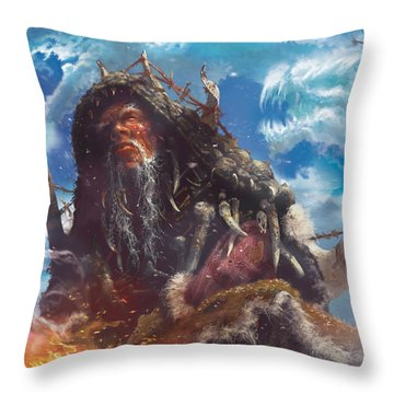 See The Unwritten Throw Pillow