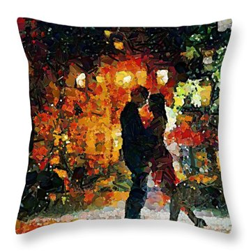 See You Tomorrow My Love Throw Pillow