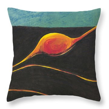 Seed Nucleus Throw Pillow