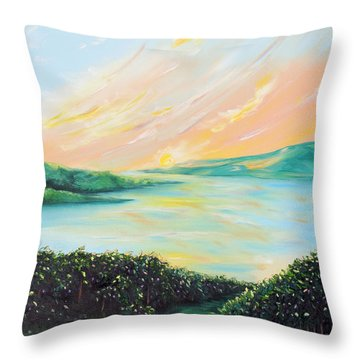 Seeded Spirit Throw Pillow
