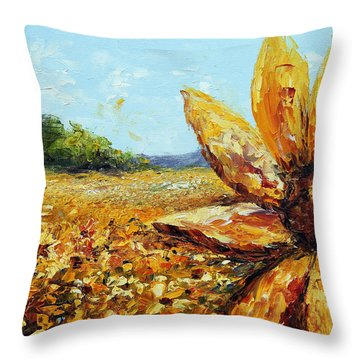 Seeing The Sun Throw Pillow